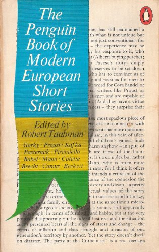 9780140029222: The Penguin Book of Modern European Short Stories