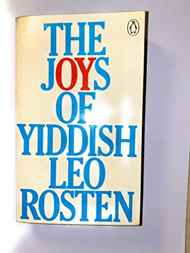 9780140030686: The Joys of Yiddish