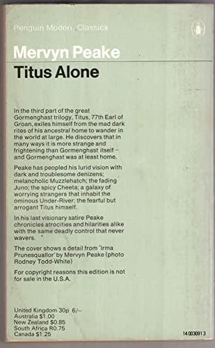 9780140030914: Titus Alone (Modern Classics)