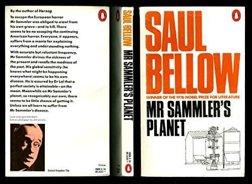 an analysis of mr sammlers planet by saul bellow Mr sammler's planet will be terra firma to all bellow admirers the novel is, as herzog was, a polemic, or discourse--a dazzling discourse commenting on man and.