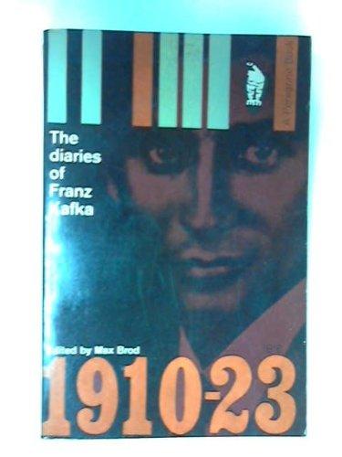 9780140034035: The Diaries of Franz Kafka, 1910-23.