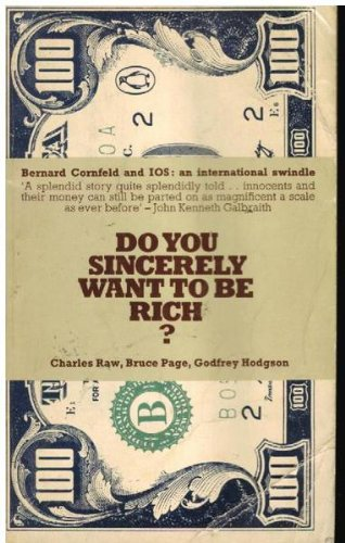 9780140034189: Do You Sincerely Want to be Rich?