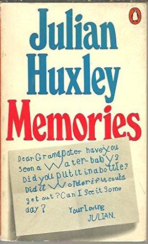 9780140034356: Memories