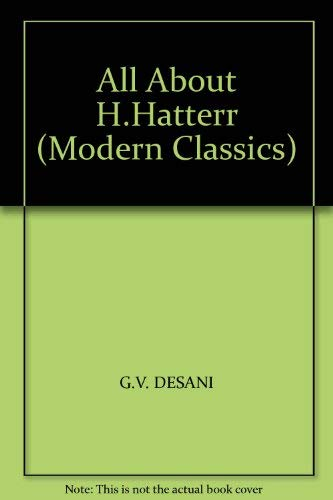 9780140034905: All About H.Hatterr (Modern Classics)