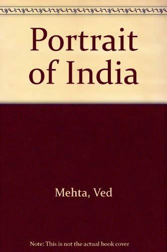 9780140034981: Portrait of India