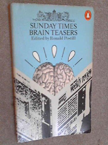 9780140036893: Sunday Times Brain Teasers