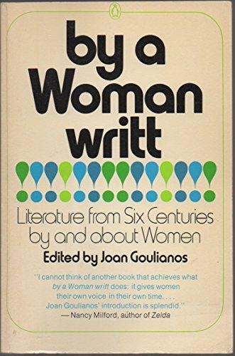 9780140037869: Goulianos Joan : by A Woman Writt