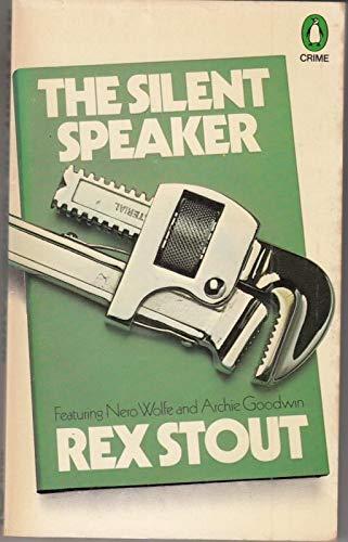 9780140041699: The Silent Speaker (Penguin crime fiction)