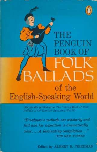 9780140042412: The Penguin Book of Folk Ballads of the English Speaking World