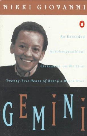 9780140042641: Gemini: My Twenty Five Years of Being a Black Poet