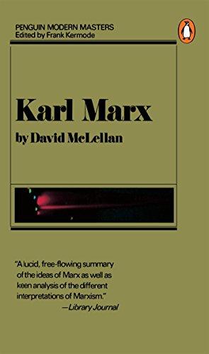 9780140043204: Karl Marx (Modern Masters)