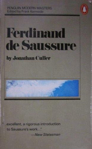 9780140043693: Ferdinand De Saussure (Penguin modern masters)