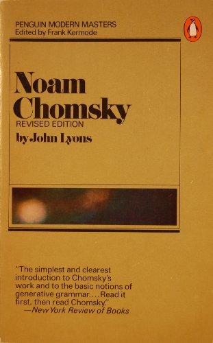 9780140043709: Noam Chomsky (Penguin Modern Masters)