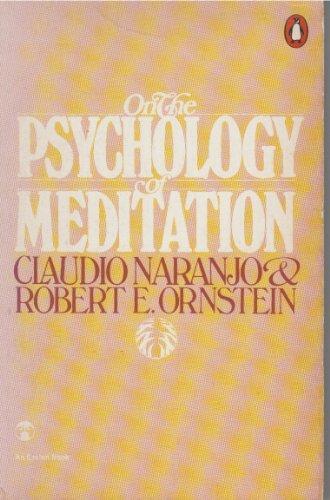 9780140044201: On the psychology of meditation (Esalen books)