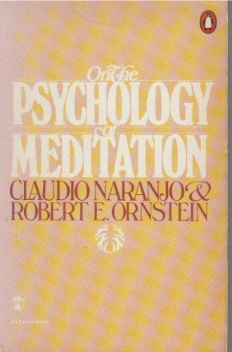 9780140044201: On the Psychology of Meditation (An Esalen book)