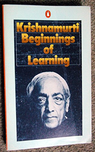 9780140044768: The Beginnings of Learning