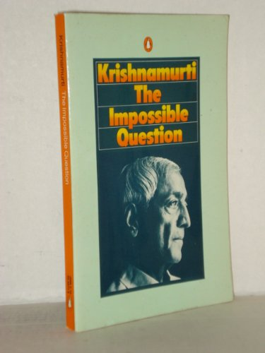 9780140044775: The Impossible Question