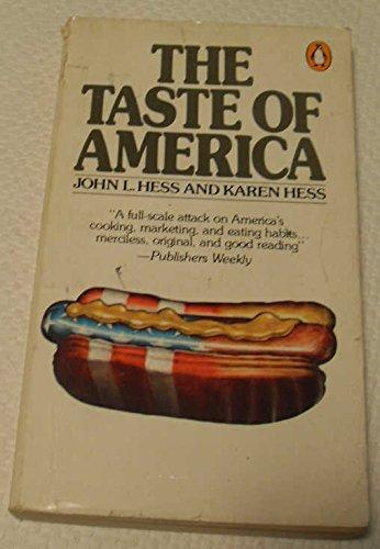9780140045352: The taste of America