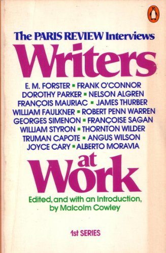9780140045406: Writers at Work: The Paris Review Interviews : First Series