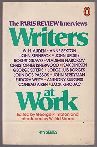 WRITERS at WORK - SECOND 2nD SERIES *: PLIMPTON, George; BROOKS, Van Wyck