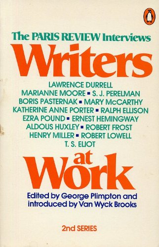 9780140045413: Writers at Work: The Paris Review Interviews, Second Series: 2nd Series