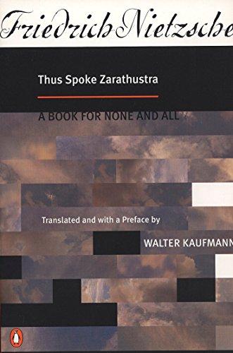 9780140047486: Thus Spoke Zarathustra