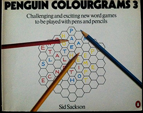 9780140048841: Penguin Colourgrams 3: Challenging And Exciting New Word Games To Be Played With Pens And Pencils