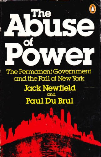 9780140049176: The abuse of power: The permanent government and the fall of New York