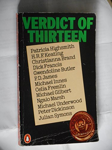 9780140051599: Verdict of Thirteen: A Detection Club Anthology