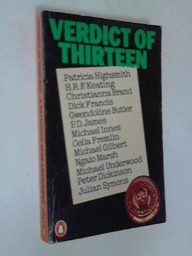 9780140051599: Verdict of Thirteen: A Detection Club Anthology