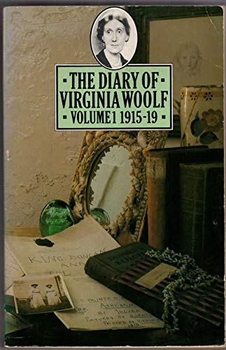 9780140052824: The Diary of Virginia Woolf ~ Volume 1: 1915-1919: 1915-19 v. 1