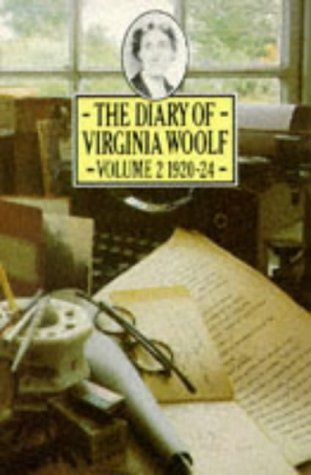 9780140052831: The Diary of Virginia Woolf: Vol. 2, 1920-1924