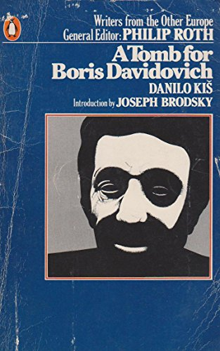 9780140054521: A Tomb for Boris Davidovich (Writers from the other Europe)