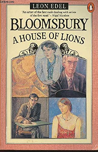 Bloomsbury: a house of lions (0140056246) by EDEL,Leon