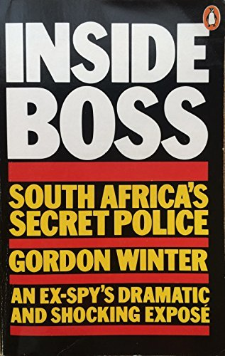 9780140057515: Inside Boss: South Africa's Secret Police
