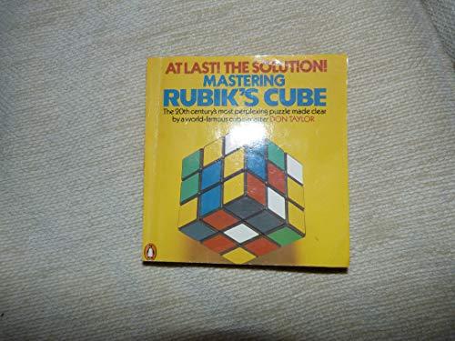 9780140061024: Mastering Rubik's cube