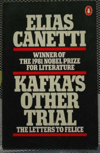 9780140062878: Kafka's Other Trial the Letters to Felice