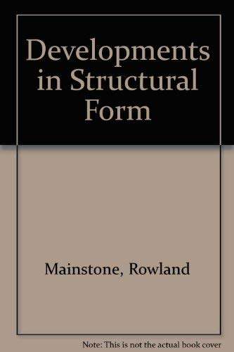 9780140065039: Developments in Structural Form