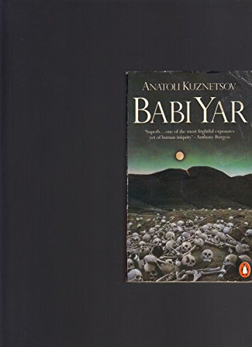 9780140065336: BABI YAR - A document in the form of a novel