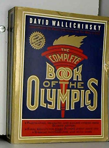 9780140066326: The Complete Book of the Olympics