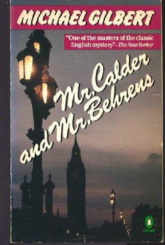 9780140066371: Mr. Calder and Mr. Behrens