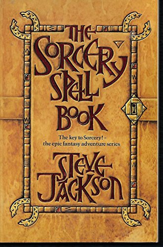 9780140067934: Steve Jackson's the Sorcery Spell Book