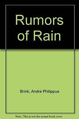 9780140068917: Rumors of Rain