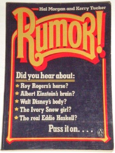 9780140070361: Rumor!