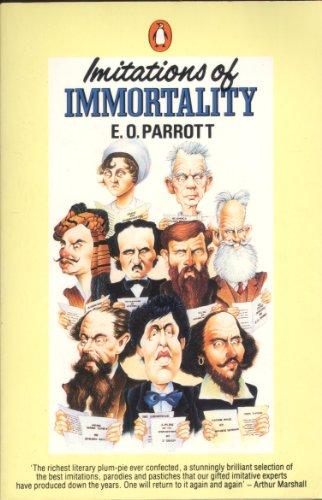 9780140071436: Imitations of Immortality