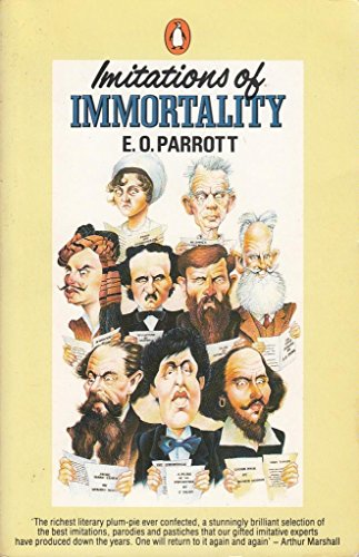 Imitations of Immortality: Book of Literary Parodies