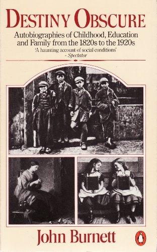 9780140073454: Destiny Obscure: Autobiographies of Childhood, Education and Family from the 1820's to the 1920's