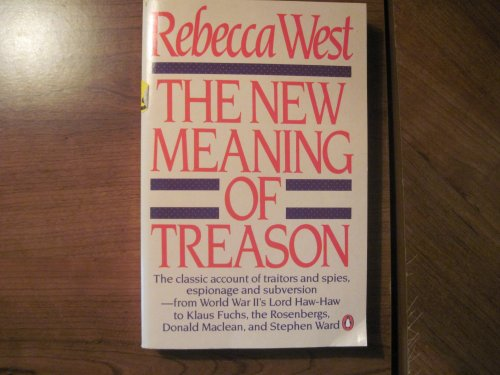9780140073799: The New Meaning of Treason