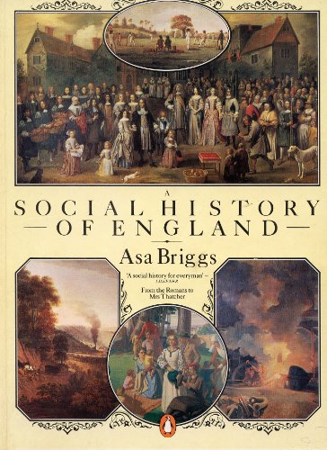 9780140074925: A SOCIAL HISTORY OF ENGLAND.