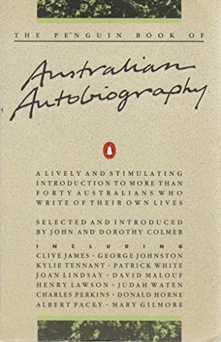 9780140075137: The Penguin Book of Australian Autobiography